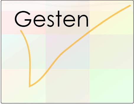 Gesten-Startbildschirm